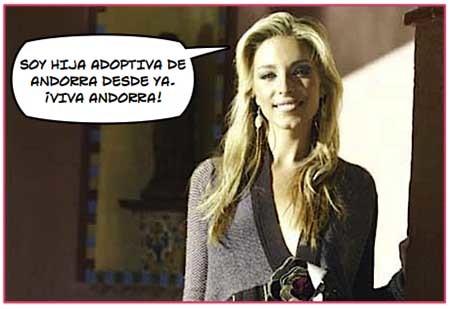 Gisela a Eurovisión por Andorra