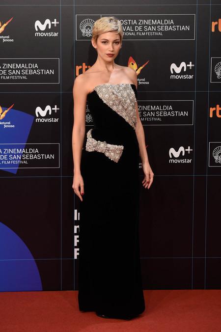 festival de cine de san sebastian alfombra roja Ursula Corbero