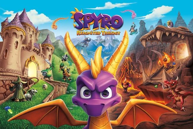 Así de impresionante lucen los juegos de Spyro Reignited Trilogy en su primer gameplay de 10 minutos [E3 2018]