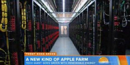 La NBC nos muestra el interior del centro de datos de Apple en Carolina del Norte
