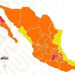 24 estados a naranja, tres a rojo y solo dos en verde: este es el nuevo semáforo de COVID para todo México