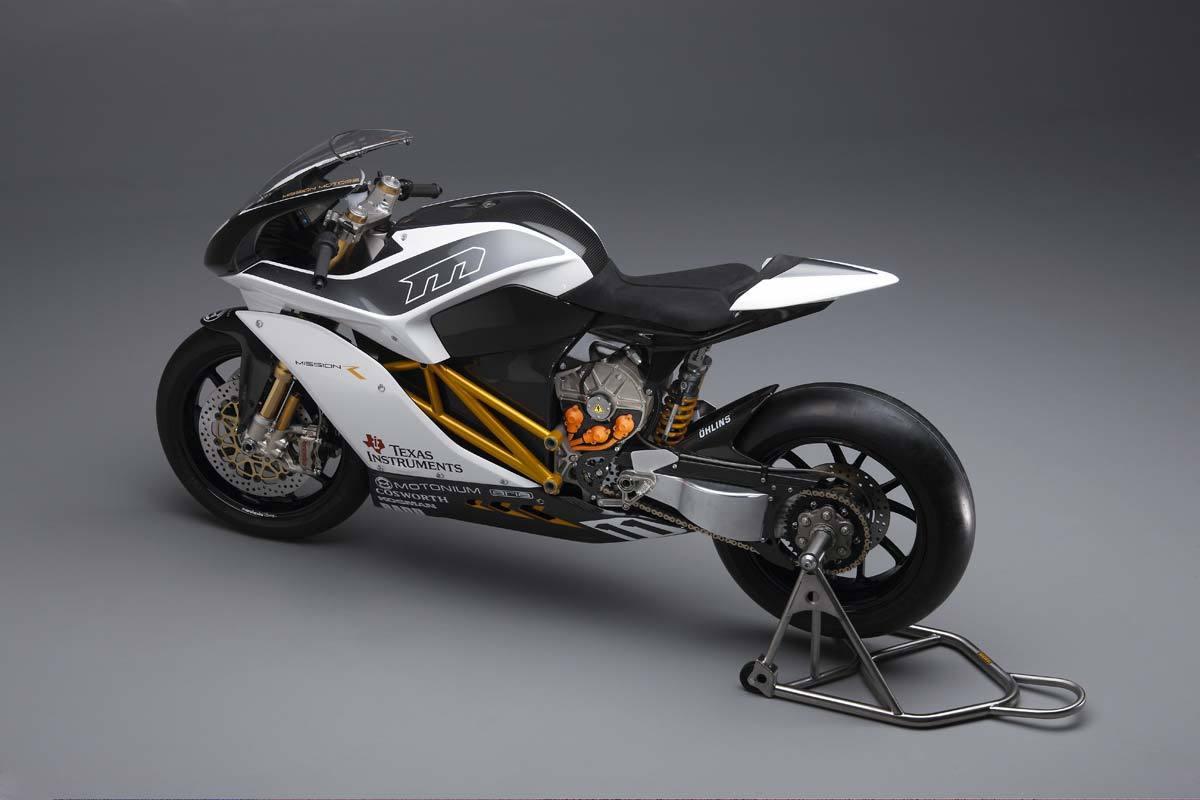 Foto de Mission R, la superbike eléctrica al desnudo (1/31)