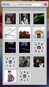 Flickrator: Otro widget para navegar por Flickr desde Dashboard
