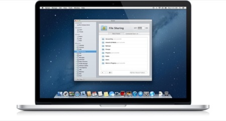 OS X Mountain Lion Server