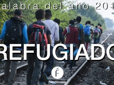 """""""Refugiado"""" es la Palabra del Año para Fundéu"""