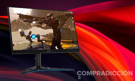 ¿Buscando monitor gaming de altas prestaciones? Amazon te deja el Lenovo Legion Y25-25 77 euros más barato