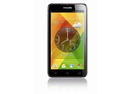 Philips W8355, para el que busque un Android grande y muy sencillo