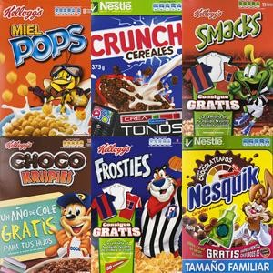 Análisis comparativo de cereales de desayuno infantil