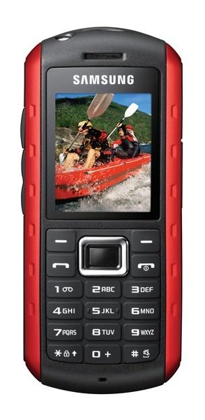 Samsung B2100 reforzado y Samsung I7410 con picoproyector integrado