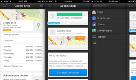 Google lanza la app de Google Places for Business para iPhone