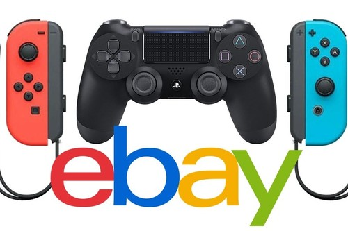 Mandos para Switch y PS4 en oferta en la Super Week de eBay