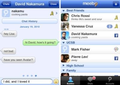 Meebo ya está disponible en la App Store