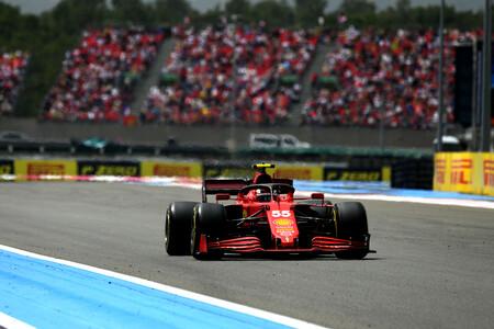 Sainz Francia F1 2021