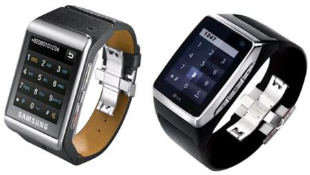 Samsung S9110 y LG GD910, dos interesantes teléfonos de pulsera