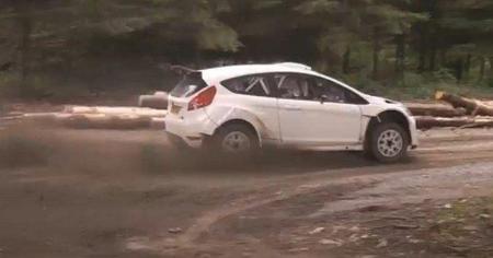 Mathew Wilson enseña el nuevo Ford Fiesta WRC en movimiento