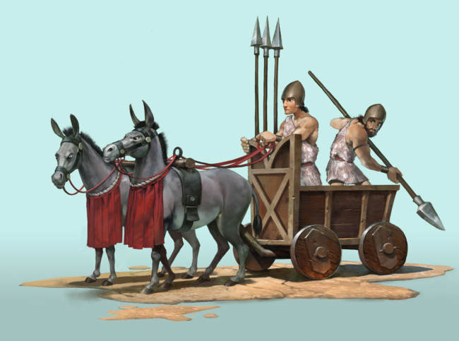 Civilizationvi Sumeria Warcart Concept
