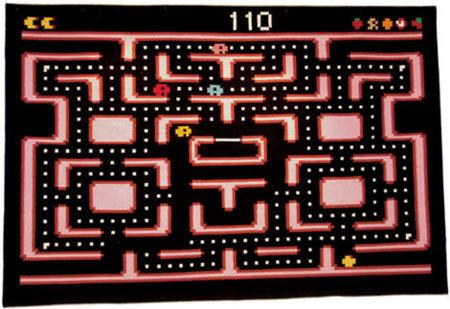 Alfombra Pac-Man