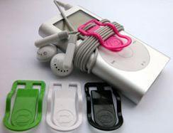 Earbud Clip, para audífonos ordenados