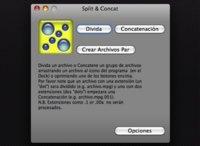 Split & Concat, dividir o unir archivos