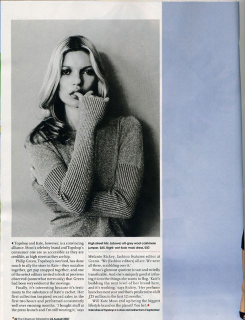 Foto de Segunda colección de Kate Moss para TopShop (3/4)
