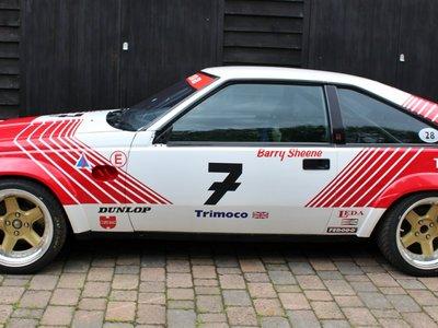 Fetichismo para coleccionistas nivel: Toyota Supra BTCC ex-Barry Sheene que ahora puede ser tuyo
