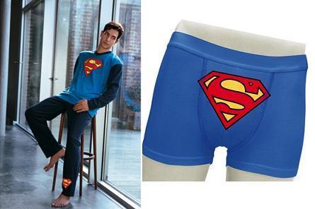 set superman: calzoncillos más pijama
