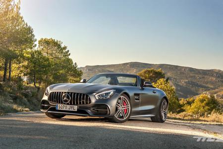 Mercedes-AMG GT C Roadster, a prueba: 557 CV de brutalidad adictiva