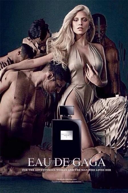 Lady Gaga muestra las primeras imágenes de su nuevo perfume unisex