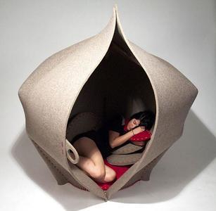 Hush, un mueble para desconectar del mundo