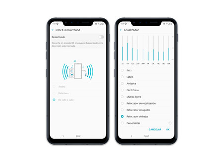 Lg G8s Thinq Ajustes Audio