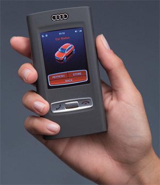 Audi metroproject, integración del móvil con el coche