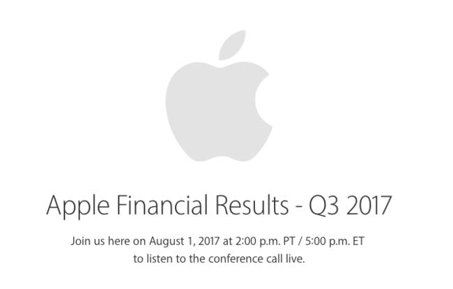 Apple Resultados Financieros