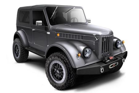 Truck Garage convierte el GAZ 69 en una bestia V8