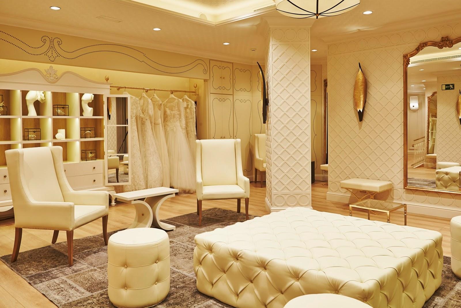 La ruta de atelieres y tiendas de novias que debes visitar for Probadores de ropa interior