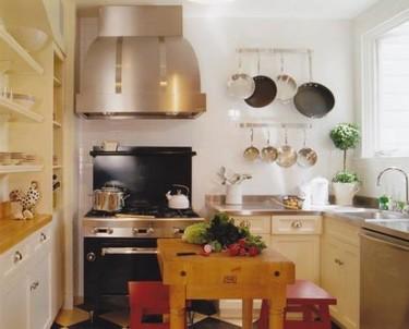 Puertas abiertas: una gran cocina en un pequeño espacio