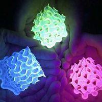 Estos son los materiales fluorescentes más brillantes que se han logrado concebir