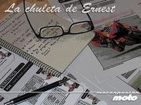 MotoGP Valencia 2012: la chuleta de Ernest