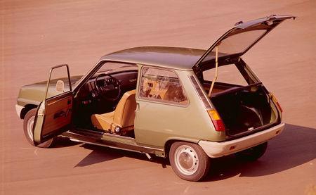 Renault 5, gran capacidad interior