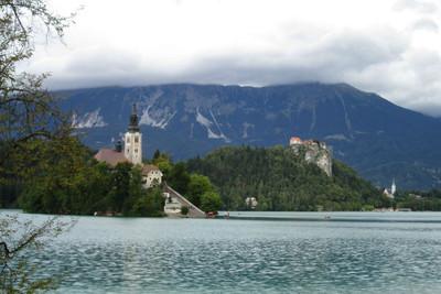 Bled, el maravilloso pueblo del lago en Eslovenia