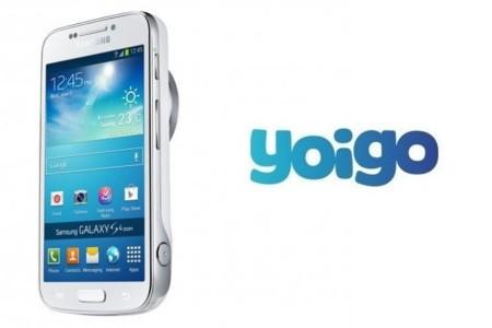 Precios de Samsung Galaxy S4 Zoom con Yoigo