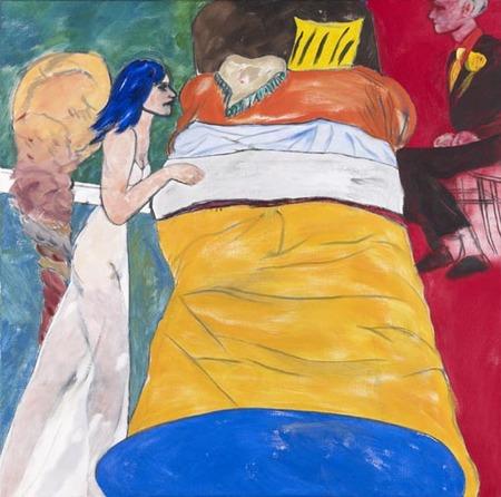 Luis Gordillo en Madrid en la Galería Marlborough