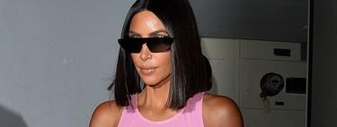La envidiable silueta de Kim Kardashian tiene truco: en un desliz deja ver su Spanx