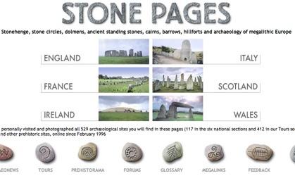 Stone Pages, la Europa megalítica
