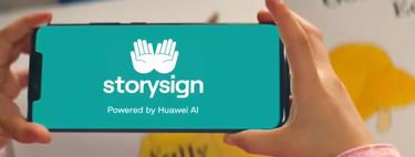 Así es StorySign, la aplicación que utiliza la IA de Huawei para enseñar a leer a niños sordos