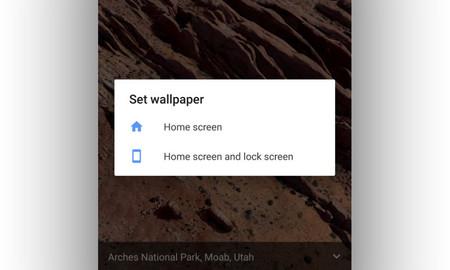 Android 7.1.2 fondo de pantalla animado