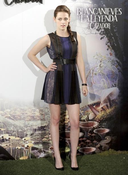 Kristen Stewart Madrid Blancanieves 2012