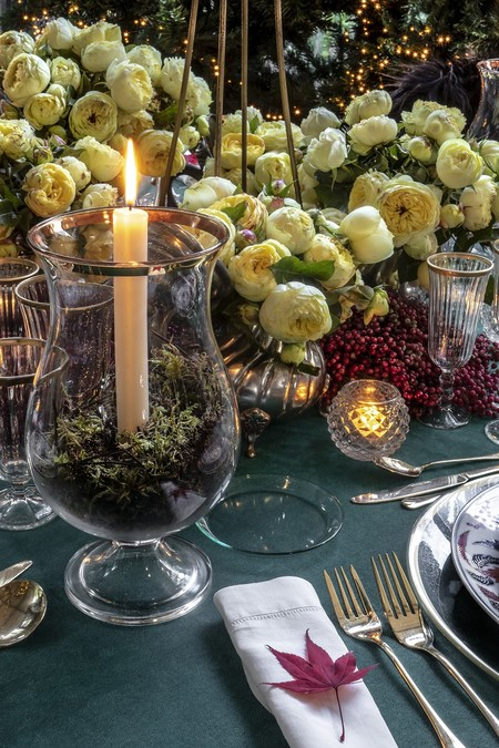 Decoración centro de mesa Navidad