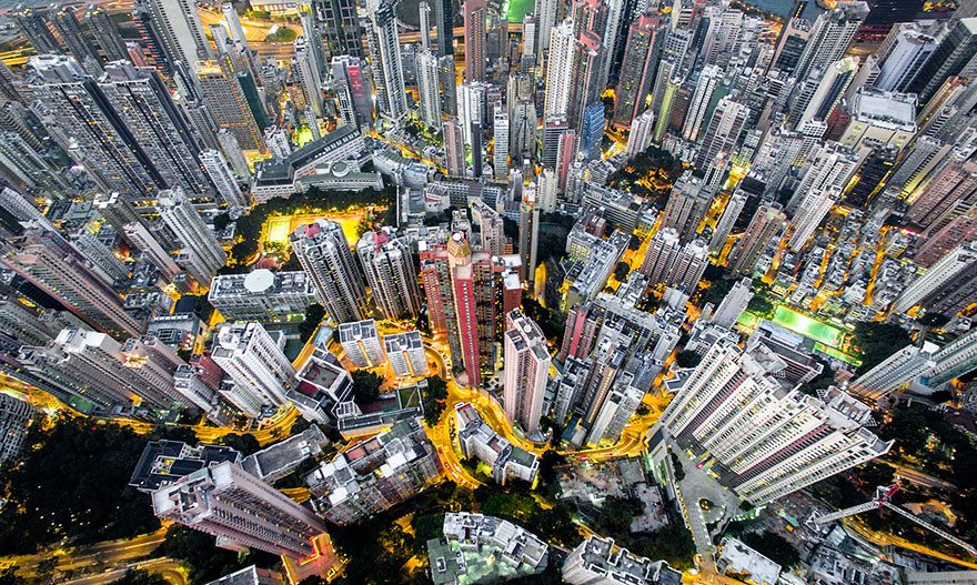 Drone Photography Hong Kong Density Andy Yeung 2