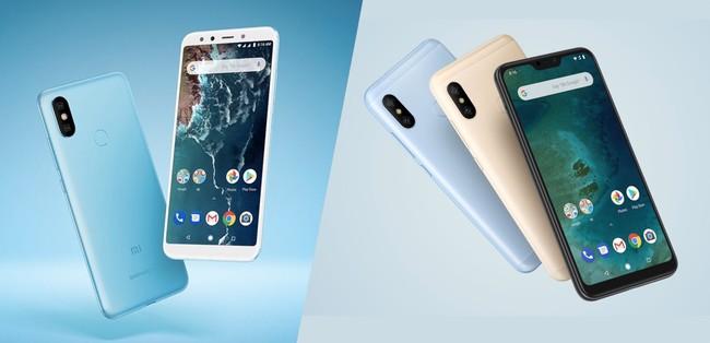 Xiaomi Mi A2 vs Mi A2 Lite: estas son todas sus diferencias