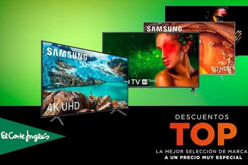 Ofertas Top en El Corte Inglés: 28 smart TVs de LG, Samsung, Sony o Philips con descuentos de hasta el 50%